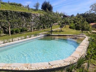 Linda paisagem com piscina privativa no Alto Minho