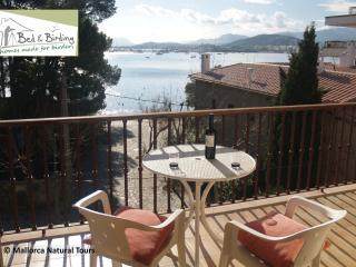 QUIET PINE WALK APARTMENT 20m FROM BEACH A/C WI-FI, Port de Pollença