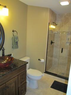 Guest Bathroom, seamless Shower