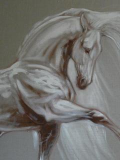 painture du cheval Templado dans Gîte Templado