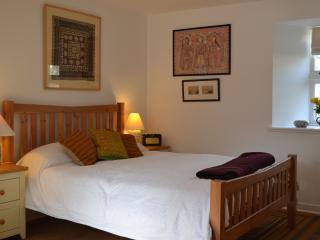 The bedroom at Camlann, King Size and very comfy