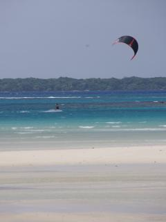 access to water sports - BYO kite !!