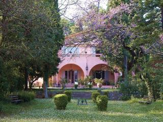 The Villa Averoff, historic estate in Evia island