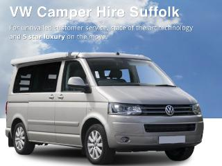VW Camper Hire Suffolk