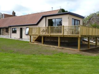 the Bothy with its raised sun deck