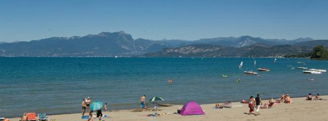 Lazise, spiaggia