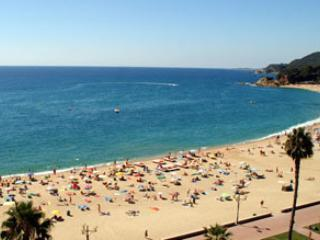 Lloret de Mar main beach.