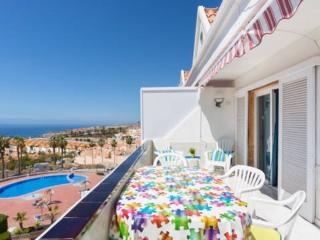 apt with great view in Playa de las America, Playa de las Americas