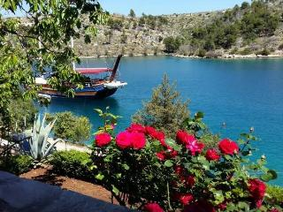 Holiday House with private beach - Island Brac, Bobovisca na Moru