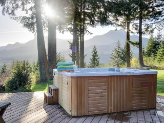 Private Gorge views, hot tub, firepit, and pool table!, Stevenson