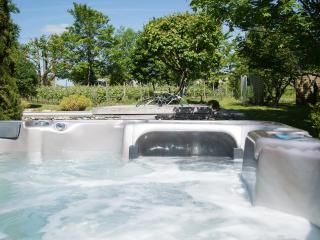 Quelques bulles relaxantes bien méritées dans le spa