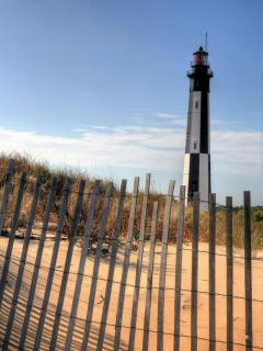 The Cape Henry Lighthouse is a short drive away!