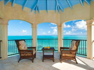 40 feet above sea level, this villa has breathtaking ocean views from all rooms and all decks. Enjoy the stepladder leading you directly into the ocean!  TNC PAL, Providenciales