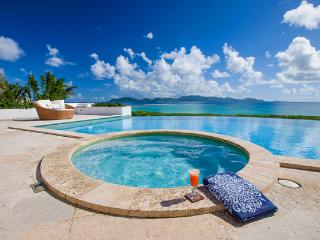 This charming new villa with stunning ocean views embraces an Italian influence in its architecture. IDP ALE, Anguilla