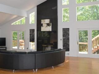 Streamfront, Modern 4000 sf, Bushkill House