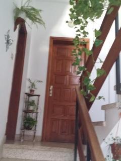 Escalera de acceso a nuestro ático