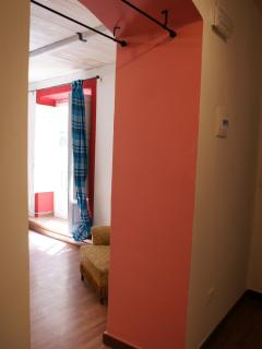 Particolare  red apartment