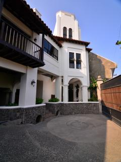 The entrance to your home, the Tuscany Village!