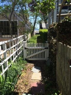 Private Deeded Path ~ heading down to waterfront
