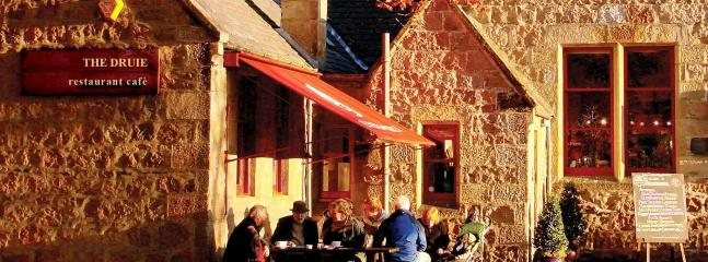 A welcome break and refreshment at Rothiemurchus