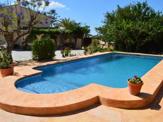 Casa de campo con piscina privada en Benissa