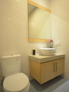 guest bathroom,with modern facilities