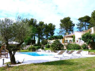 Piscine chauffee et Jardin, villa de 300m2 Aix en Provence pour 9 personnes