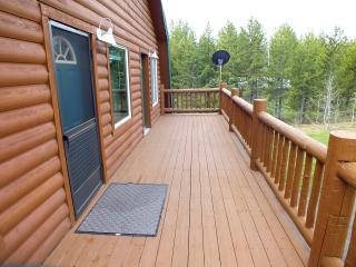 River Front Cabin near Yellowstone NP.  Sleeps up to 20 guests.