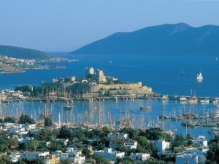 Bodrum Gumbet 3 minutes walk to the beach sea view