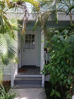 102-4 Southard st, front door and hidden porch