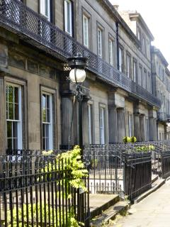 Georgian elegance in nearby Regent Terrace