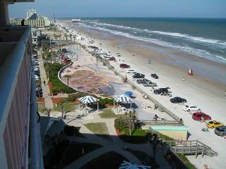 See the View Feel the Breeze Balcony looking right, Daytona Beach