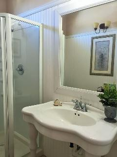 Brand new bathroom with Kohler fixtures