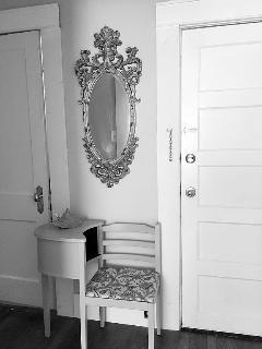 Antique furniture and trim
