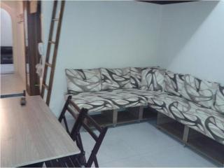 Quarto e Sala Prático e Aconchegante - COPACABANA