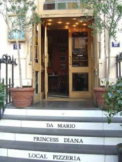 Princes Diana's favorive Pizzeria