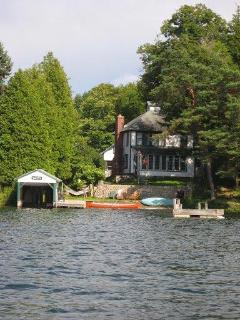 The Property as seen from the water