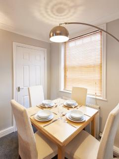 Dining at Bright Moments Holiday Home