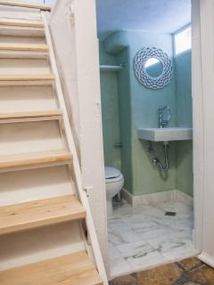 En suite WC with shower