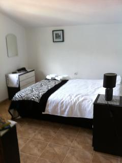 double bedroom with storage/ hairdryer/safe for valuables