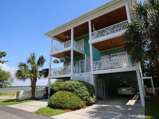 Channel Chants -  Enjoy the beautiful sound views from this South End home, Wrightsville Beach