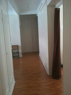 Storage areas in hallway