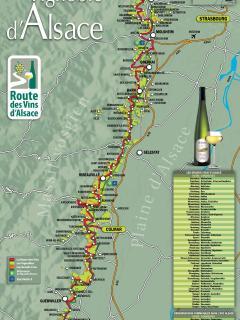 route des vins d'ALSACE nous pouvons vous informer sur place