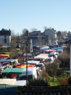 The annual Foire aux Chapons capon fair, second sunday of December in Blond