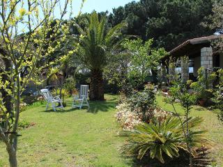 Villa di campagna con giardino vicino al mare