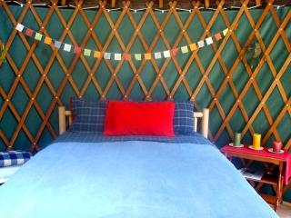 Yurt on Orcas Island Horse Farm, Deer Harbor
