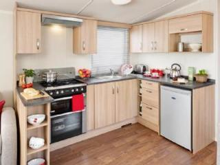2015 Caravan located on Perran Sands Holiday Park
