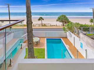 Opposite Beautiful Currumbin Beach. Sleeps 12 adults.