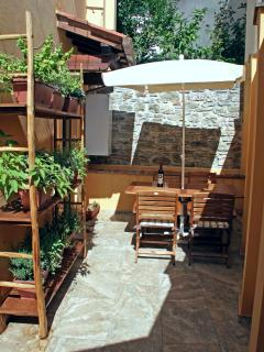 Private equipped terrace - Terrazza privata attrezzata