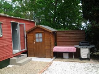 Mobil home 6 places camping 3 étoiles avec piscine, Mandelieu-la-Napoule
